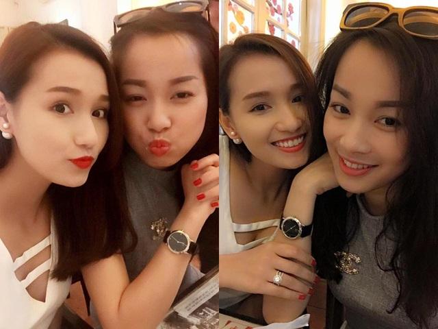 Minh Hương Vàng Anh khoe ảnh hẹn hò với bạn thân Lã Thanh Huyền.