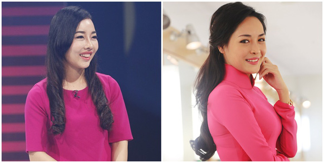 MC Phí Linh nhận xét Minh Thu có nhiều nét giống với nhân vật Vũ Thanh Quỳnh (phải). Bạn nghĩ sao về điều này?