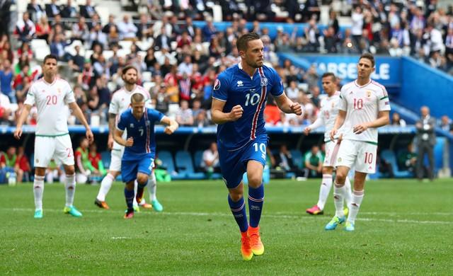 Iceland đã có lợi thế nhưng không thể giữ vững trong suốt trận đấu. Ảnh: UEFA