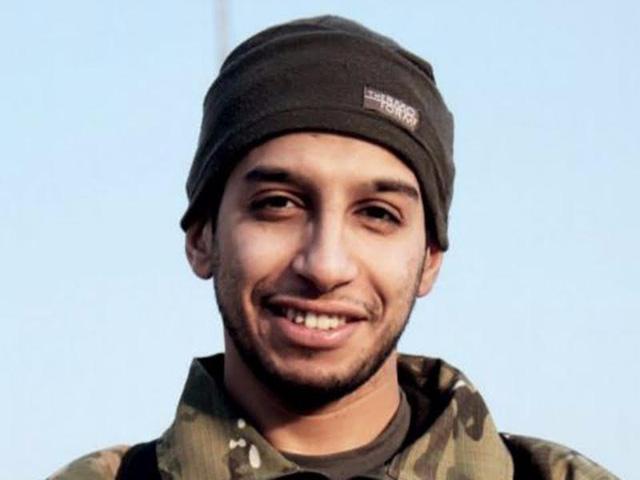 Đối tượng Abdelhamid Abaaoud. (Ảnh: VTV9)