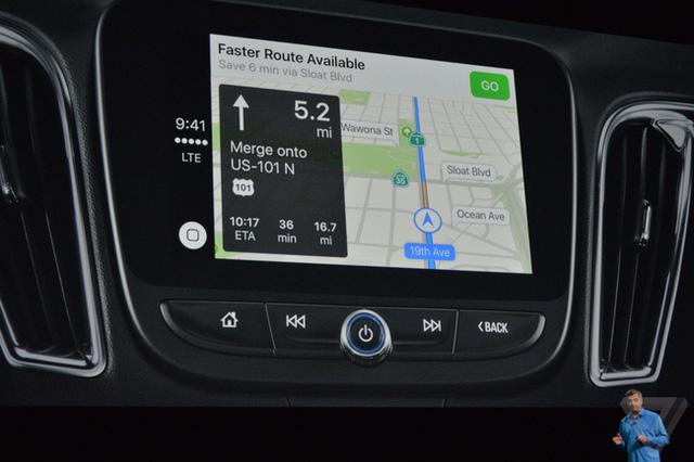 Apple Maps được tích hợp trên Apple Car