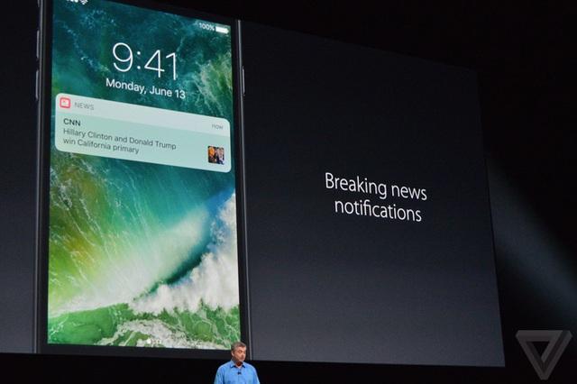 Apple News cũng nhận được sự thay đổi về giao diện