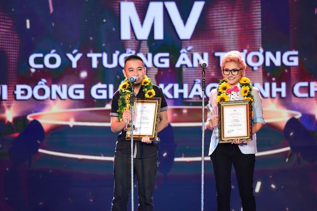 Vicky Nhung nhận giải MV có ý tưởng ấn tượng