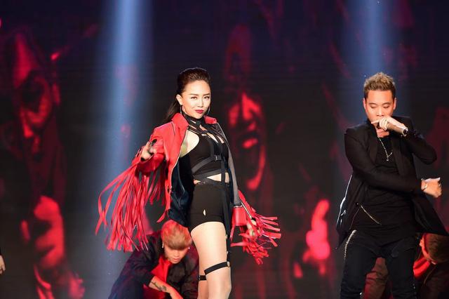 Tóc Tiên cùng JustaTee, Big Daddy trong ca khúc The beat of celebration