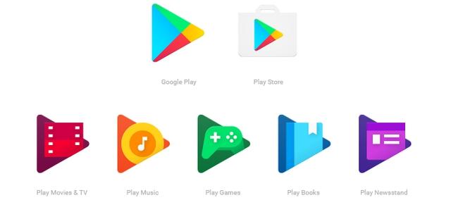 Biểu tượng ứng dụng mới của Google Play