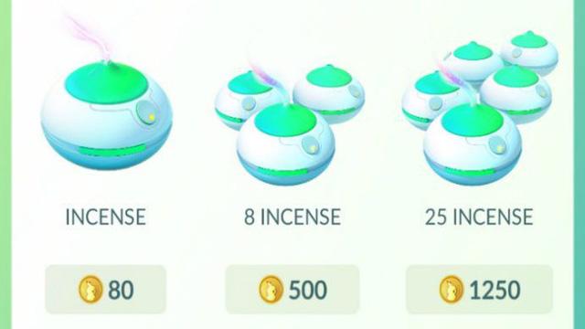 Mức giá của vật phẩm Incense