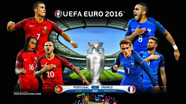 Trận chung kết EURO 2016 giữa Pháp - Bồ Đào Nha hứa hẹn một cuộc thư hùng hấp dẫn và kịch tính