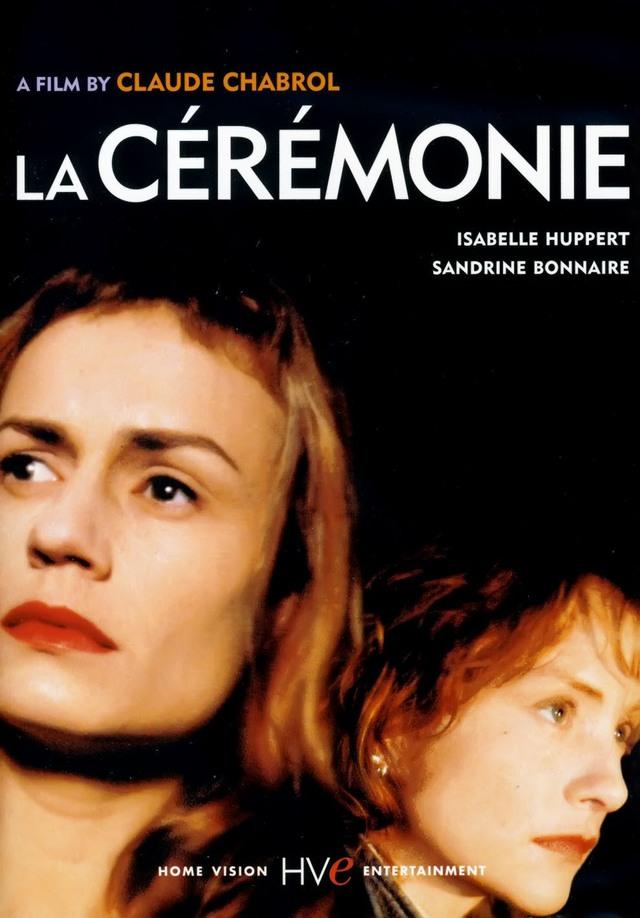Poster của phim là hình ảnh hai nữ diễn viên chính Sandrine Bonnaire và Isabelle Huppert