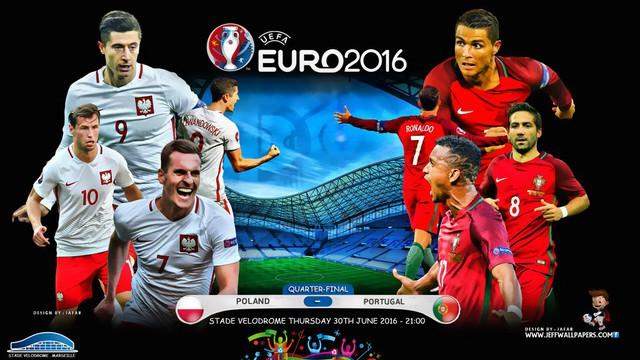 Ba Lan và Bồ Đào Nha lọt vào vòng tứ kết EURO 2016 đều nhờ khả năng phòng ngự.