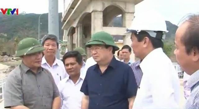 Phó Thủ tướng Trịnh Đình Dũng kiểm tra công tác khắc phục hạn hán tại Ninh Thuận