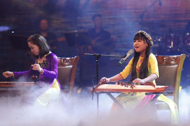 Quỳnh Anh với phần trình diễn trong đêm bán kết 3.
