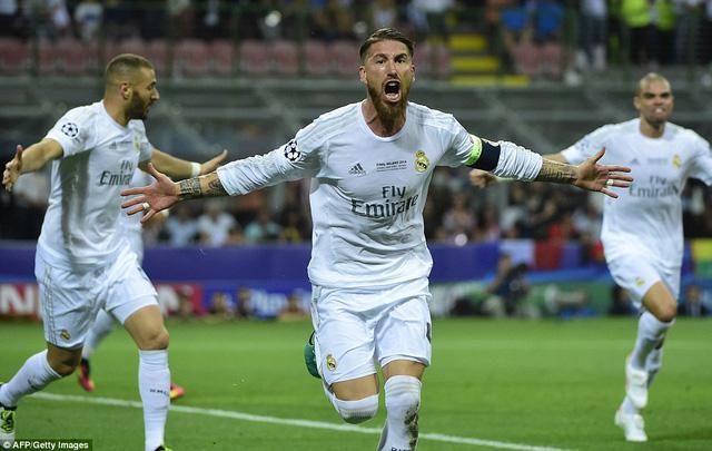 Ramos thể hiện cái duyên trong trận chung kết với bàn thắng mở tỉ số. Anh chơi lên công về thủ thuyết phục trong cả giải đấu.