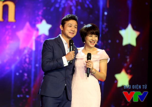 Đôi bạn MC - BTV thân thiết Anh Tuấn và Diễm Quỳnh tái hợp trên sân khấu khi cùng đảm nhiệm vai trò dẫn dắt chương trình.
