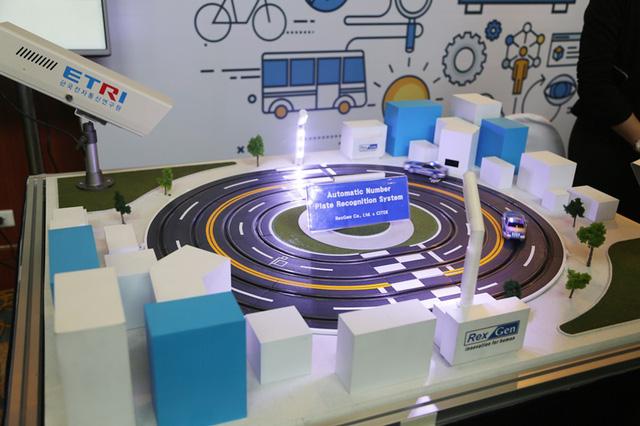 Hệ thống tự động nhận diện biển số xe nằm trong giải pháp giám sát giao thông của Citek