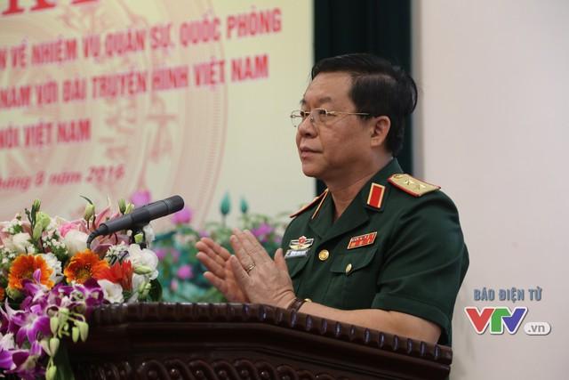 Nâng cao hiệu quả phối hợp tuyên truyền nhiệm vụ quân sự, quốc phòng trên sóng VTV - Ảnh 2.