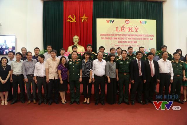 Nâng cao hiệu quả phối hợp tuyên truyền nhiệm vụ quân sự, quốc phòng trên sóng VTV - Ảnh 7.
