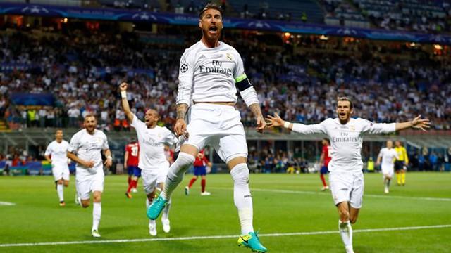 Real Madrid đã chiến thắng bằng bản lĩnh của nhà vô địch. Ảnh: Getty