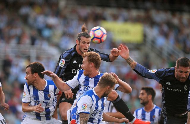 Bale mở tỉ số cho Real Madrid