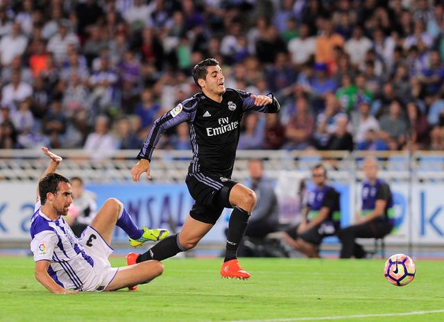 Alvaro Morata cũng có một ngày thi đấu hiệu quả