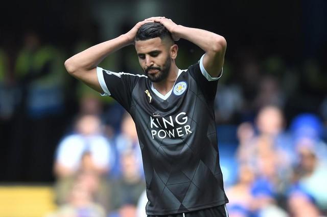 Mahrez có thể gia nhập Chelsea thay vì Arsenal. Ảnh: Getty
