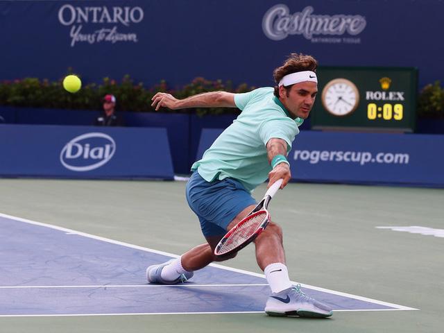 Roger Federer cũng không tham gia Rogers Cup do chưa bình phục chấn thương