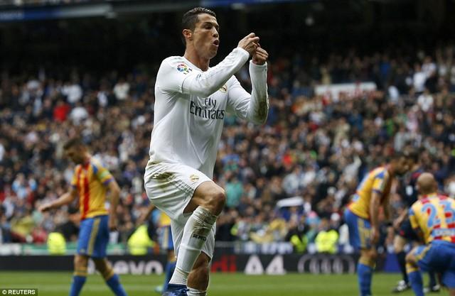 Ronaldo cũng có tên trong danh sách ĐHTB của Goal.
