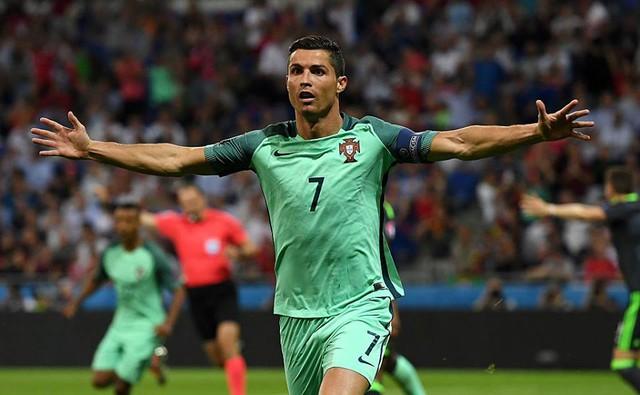 Ronaldo không có đối thủ về khoản thu nhập trong giới thể thao