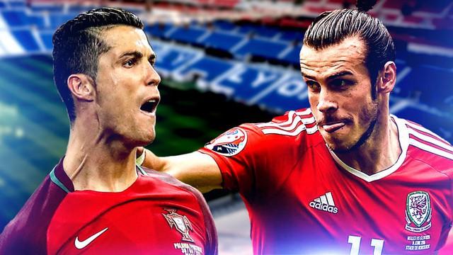 Bồ Đào Nha - Xứ Wales: Cuộc chiến không chỉ có Ronaldo và Gareth Bale.