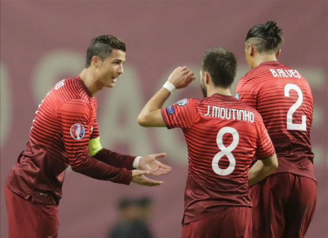 NHM đặt rất nhiều kỳ vòng vào Ronaldo cùng ĐT Bồ Đào Nha. Ảnh: Getty