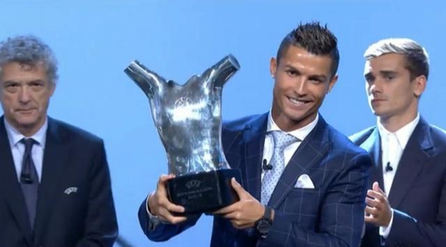 Cristiano Ronaldo - Cầu thủ nam xuất sắc nhất châu Âu 2015/16
