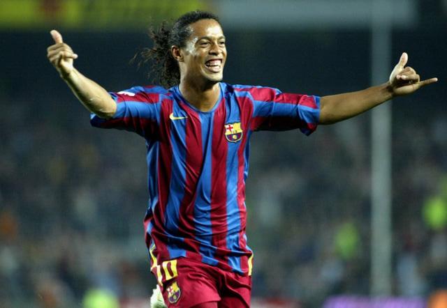 Ronaldinho để lại những hoài niệm đẹp cho NHM Barcelona