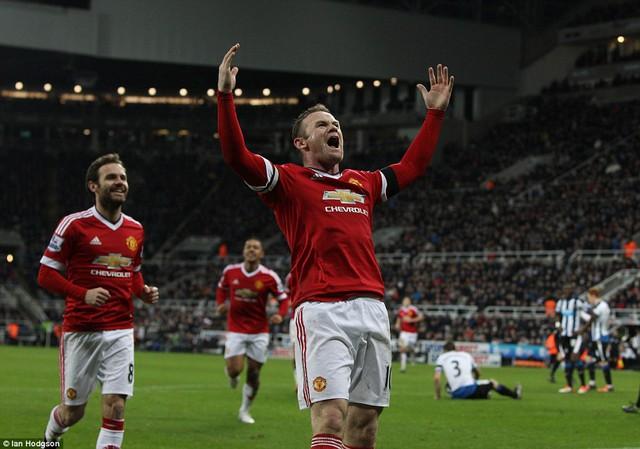 Rooney đã chơi cực hay trận này.