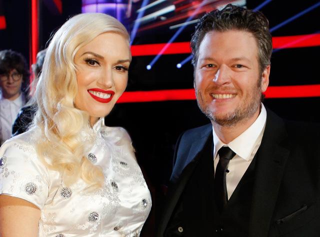 Gwen Stefani hẹn hò với Blake Shelton - người đồng nghiệp ở The Voice (Ảnh: NBC)