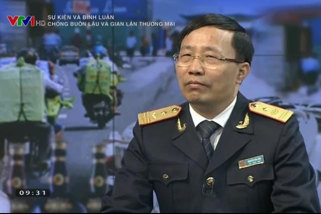 Ông Nguyễn Văn Cẩn – Phó Tổng cục trưởng, Tổng cục hải quan; Chánh văn phòng Ban chỉ đạo 389 quốc gia