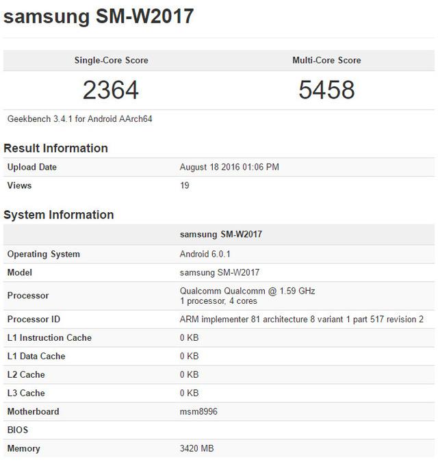 Thông tin rò rỉ về cấu hình của Samsung Veyron