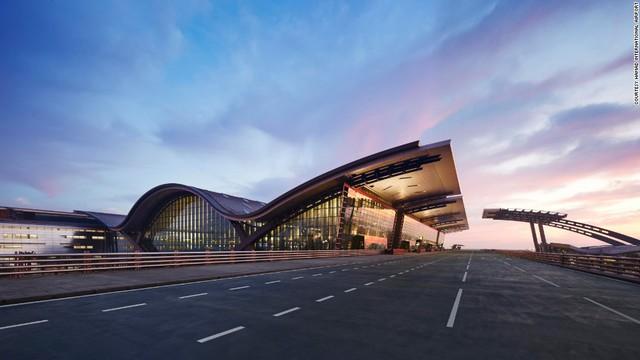 10. Sân bay quốc tế Hamad (Doha, Qatar) (Ảnh: CNN)