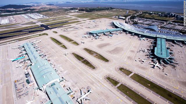 2. Sân bay quốc tế Incheon, Hàn Quốc (Ảnh: CNN)
