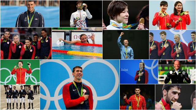 Những VĐV giành HCV trong ngày thi đấu thứ 4 Olympic Rio 2016