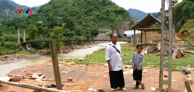 Do lũ xuất hiện tại thôn Đồng Hẻo, xã Cát Thịnh, Văn Chấn, Yên Bái vào ban ngày nên không gây thiệt hại về người và tài sản.