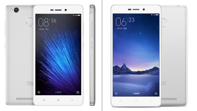 Xiaomi Redmi 3X và Xiaomi Redmi 3S