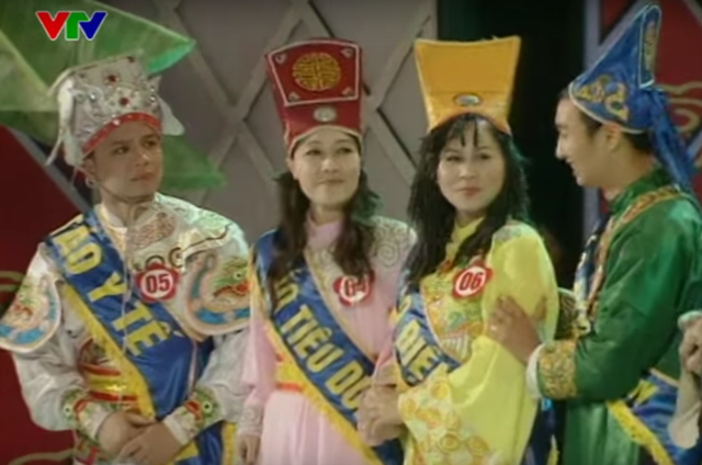 Cuộc thi Hoa Táo 2009 với những bộ trang phục tràn ngập sắc màu