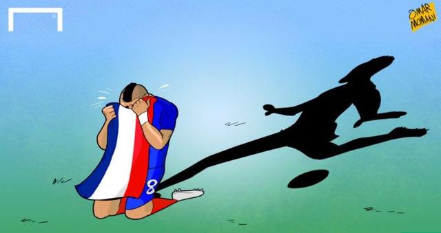 Nước mắt Payet là chủ đề được nói đến rất nhiều khi anh ghi bàn thắng quyết định đem về chiến thắng cho ĐT Pháp trước Romania.