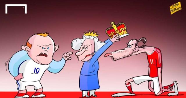 Rooney và các đồng đội đã đánh mất ngôi đầu bảng B vào tay Xứ Wales sau khi kết thúc vòng bảng EURO 2016.