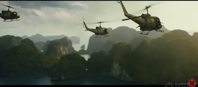 Những cảnh quay ở Việt Nam hiện lên choáng ngợp (ảnh chụp từ màn hình)