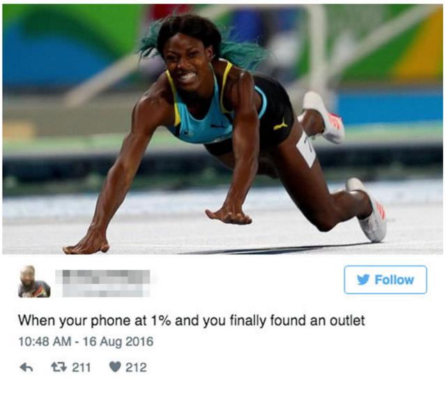 Khi điện thoại chỉ còn 1% pin và bạn tìm thấy một cửa hàng gần đó