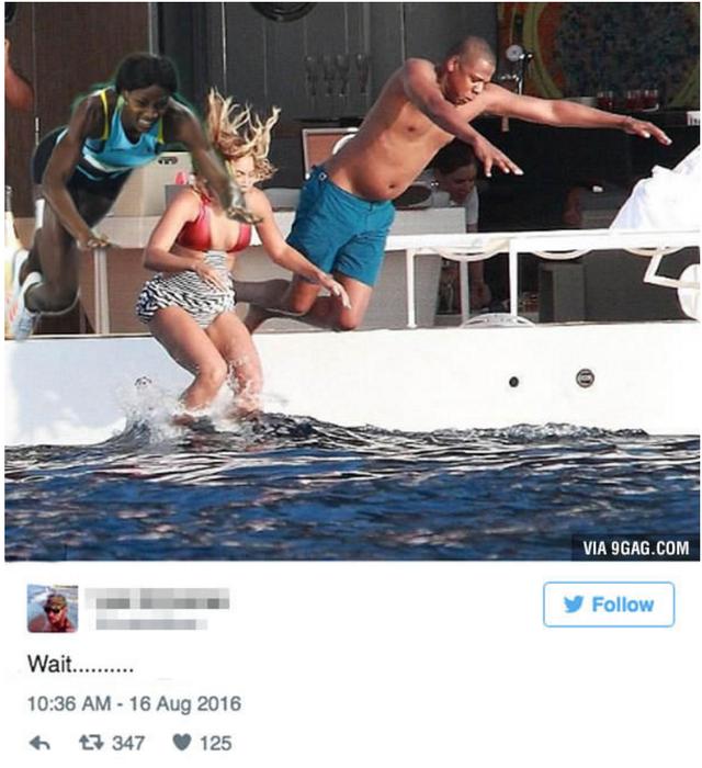 Shaunae Miller cũng được mời tham gia thi bơi cùng gia đinh Beyonce - JayZ