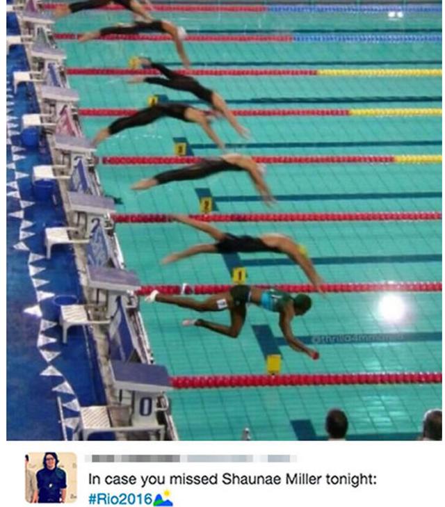 Bơi lội?