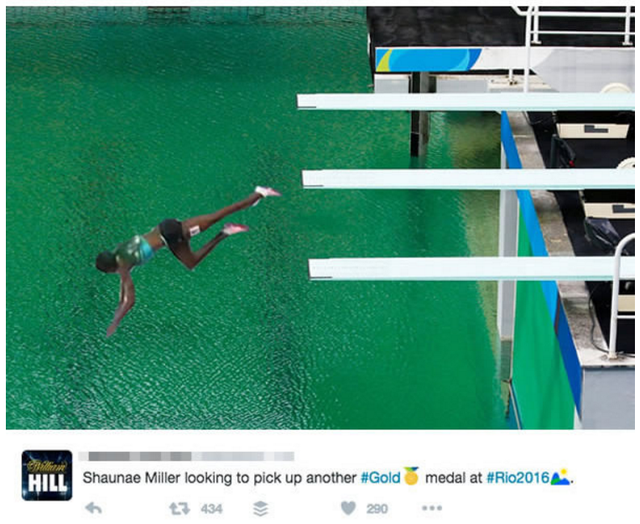 Sau tấm HCV ở cự ly chạy 400m, nữ VĐV Bahamas sẽ tiếp tục chinh phục môn nhảy cầu ở bể bơi xanh lạ của nước chủ nhà?