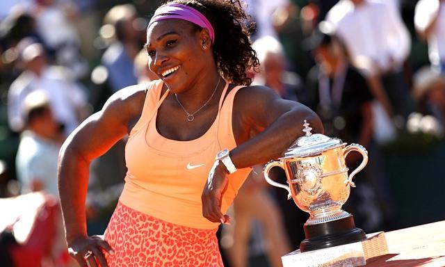 Serena Williams là nữ vận động viên kiếm nhiều tiền nhất trong năm vừa qua
