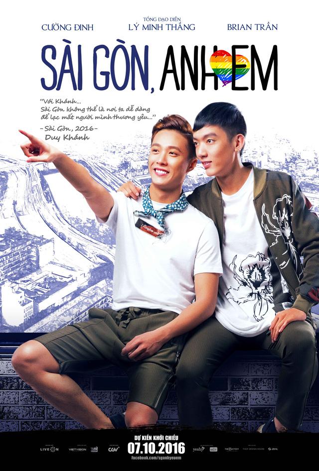 Lincoln Đức Nguyễn - Duy Khánh (Brian Trần – Cường Đinh) – một mối tình đồng tính nhẹ nhàng, đáng yêu xuất phát từ sự đồng cảm của hai trái tim giữa Sài Gòn hoa lệ.